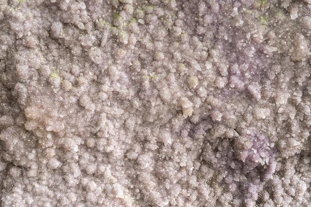 Minerale del sale bianco per struttura e fondo