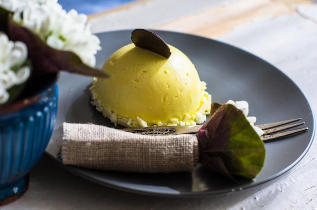 Mini torta al limone