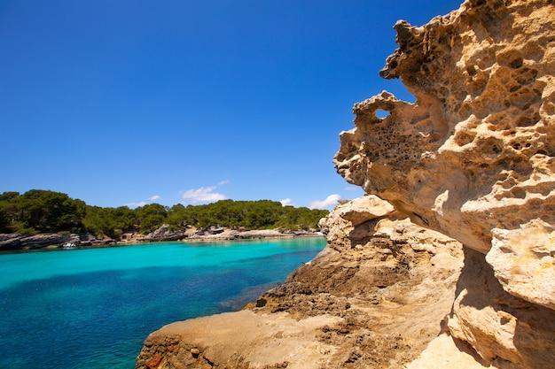 Minorca cala en turqueta ciutadella balearic mediterraneo