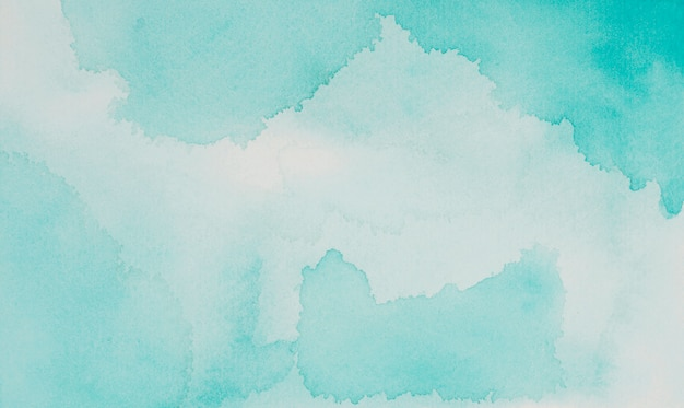 Miscela acquamarina di vernici su carta