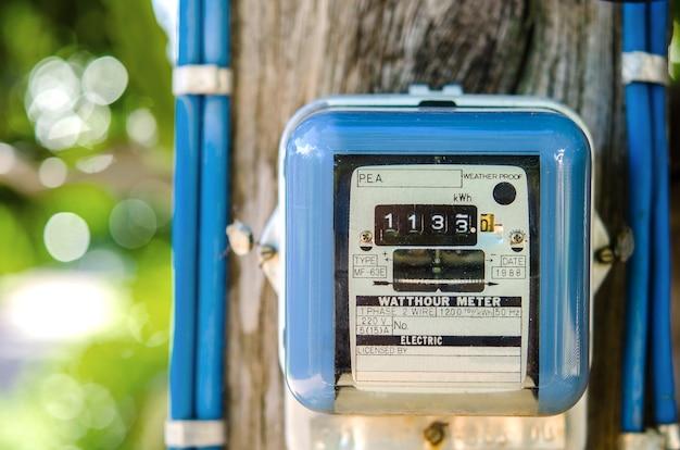 Misuratore di energia elettrica per l'uso in casa
