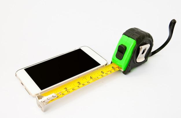 Misurazione del nastro con il telefono