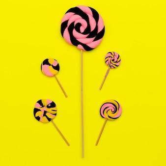 Mix candy lolipop. arte dolce.