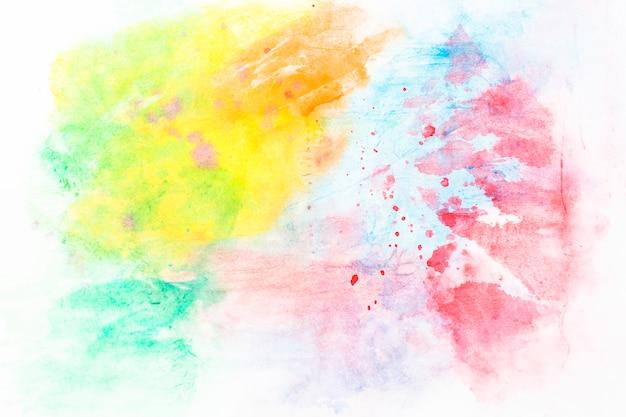 Mix di acquerello colorato