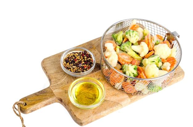 Mix di verdure surgelate