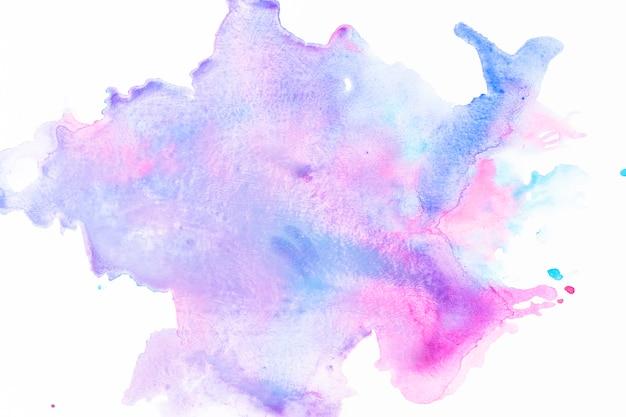 Mix di vernice blu e fucsia