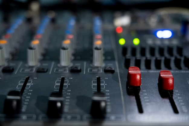 Mixer controllo del volume principale