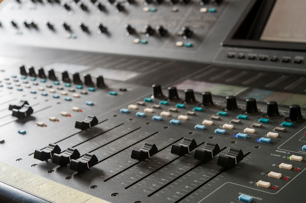 Mixer musicale professionale