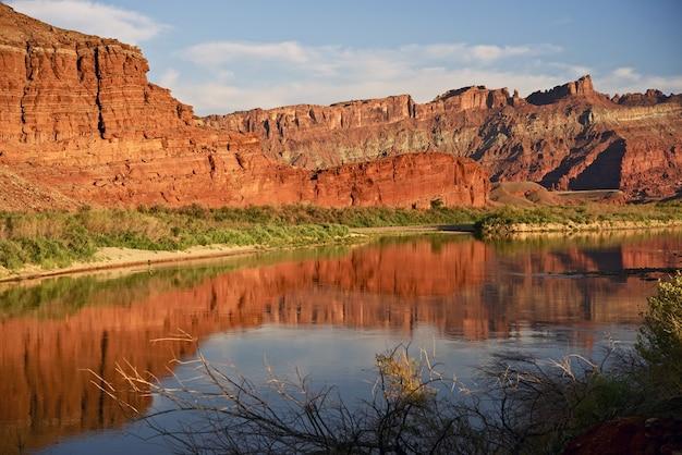 Moab utah colorado river