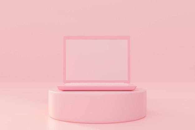 Mock-up per laptop