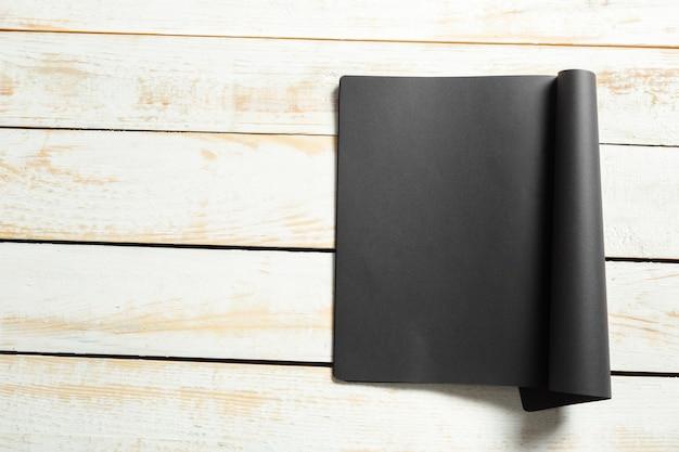 Mockup di un libro bianco