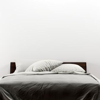 Mockup galleria di interni per camera da letto