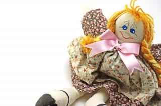 Moda bambola fatta a mano, bella