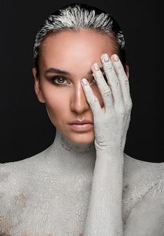 Moda pelle secca. immagine d'arte
