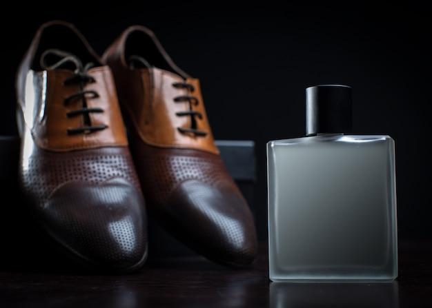 Moda uomo. accessori uomo, still life. aspetto aziendale.