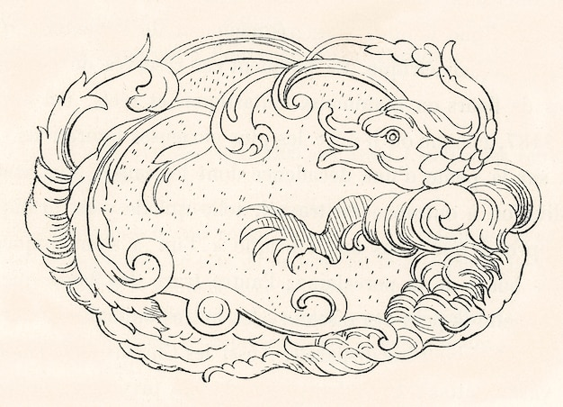 Modello cinese antico