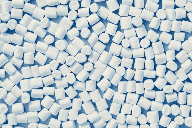 Modello classico marshmallow di colore blu