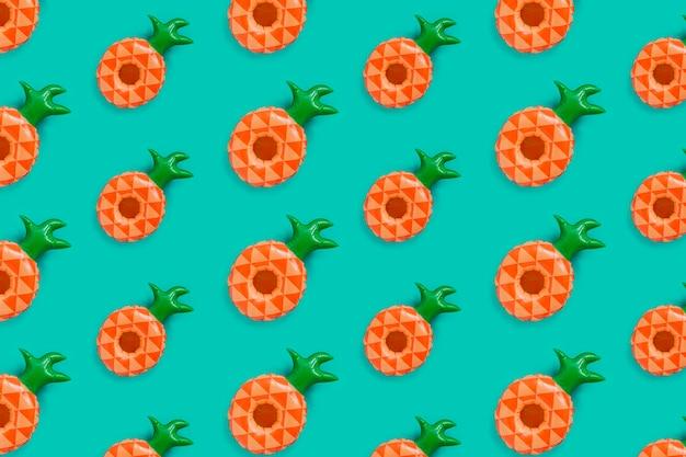 Modello di ananas per l'estate