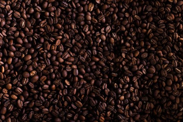 Modello di chicchi di caffè
