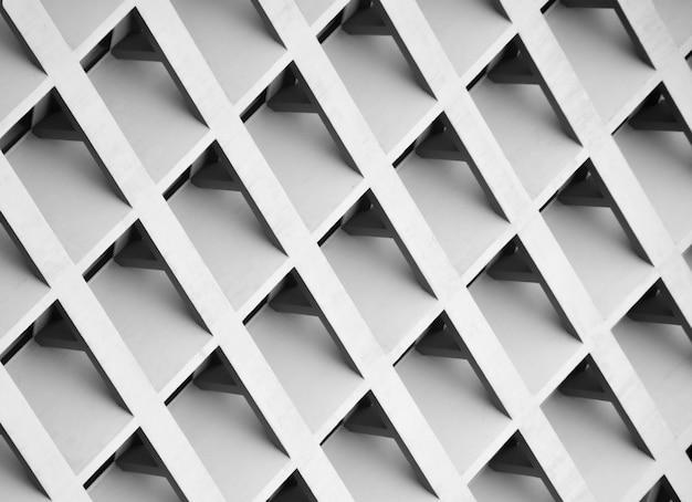Modello di edificio a più piani windows e balcone. - monocromatico