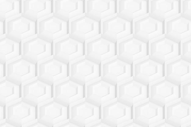 Modello di esagoni e cerchi basati sulla griglia esagonale