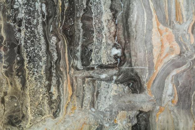 Modello di marmo nero astratto con alta risoluzione. priorità bassa del grunge o dell'annata di vecchia struttura di pietra naturale della parete.