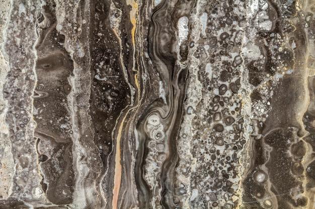 Modello di marmo nero astratto con alta risoluzione