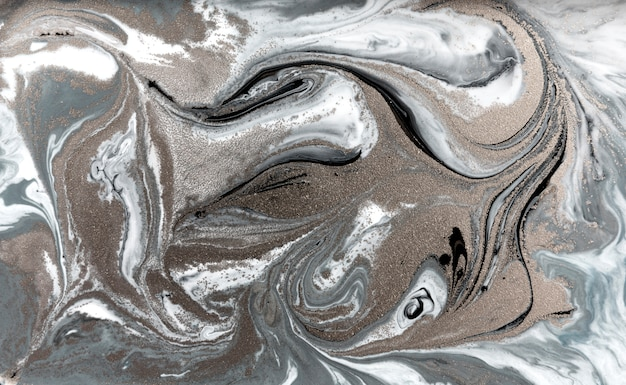 Modello di marmorizzazione pallido. semplice struttura liquida in marmo.