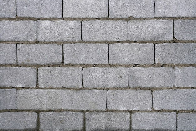 Modello di muro di mattoni bianchi.