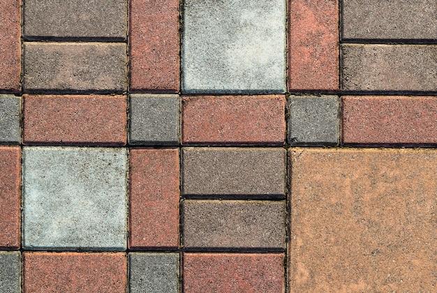 Modello di pavimentazione in mattoni