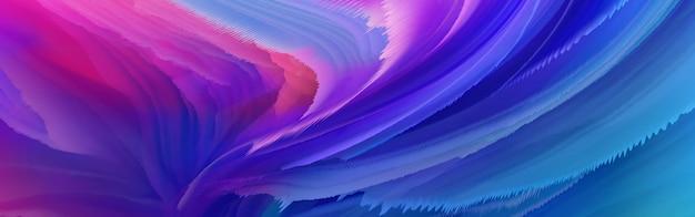 Modello di sfondo spruzzi di inchiostro astratto di colore