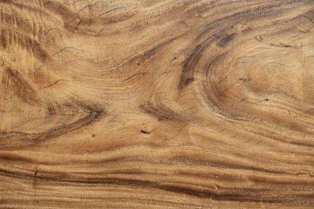Modello di tavolo in legno come sfondo.
