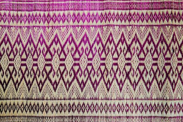 Modello di tessuto tailandese per texture e sfondi