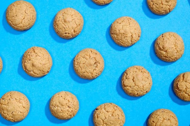 Modello fatto di biscotti dolci