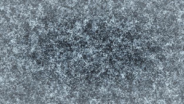 Modello gelido su sfondo nero