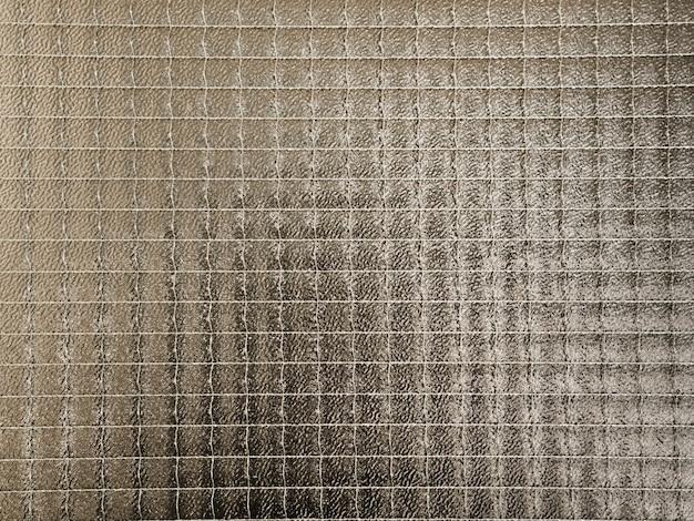 Modello geometrico di vetro con texture di sfondo