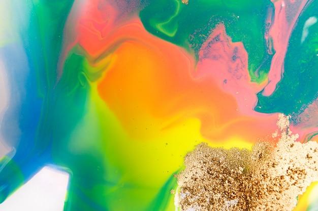 Modello gradiente astratto arcobaleno.