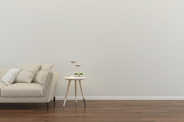 Modello interno del pavimento della casa del salone