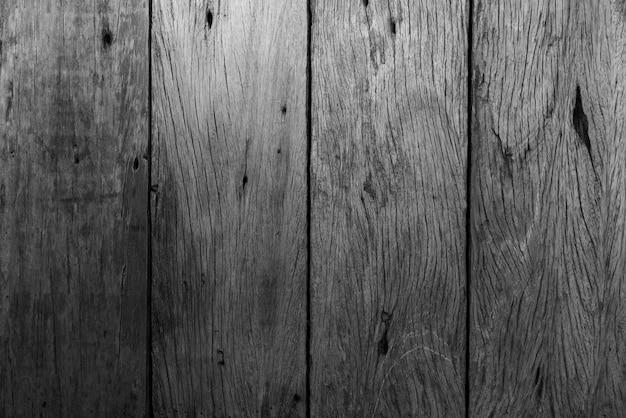 Modello naturale legno nero o dettaglio della superficie del legno nero