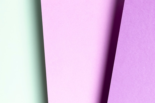 Modello piatto blu e viola
