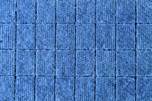 Modello piatto laici di blocchi per la progettazione o lo sfondo. colore del blu classico del 2020 anni.
