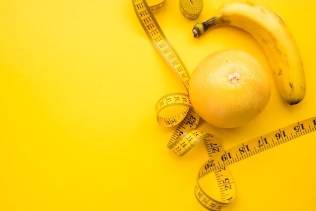 Moderna composizione del cibo sano