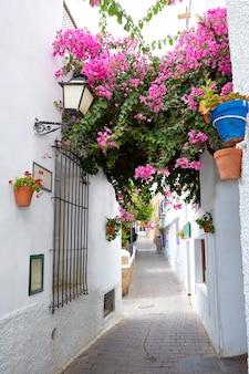 Mojacar almeria bianco villaggio mediterraneo spagna