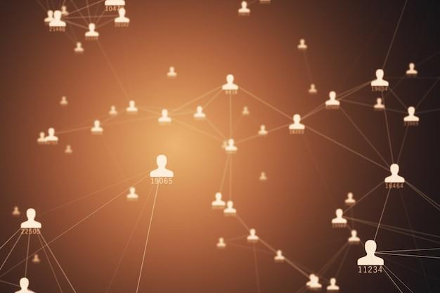 Molte connessioni tra avatar