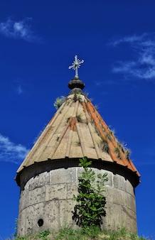 Monastero di sanahin nelle montagne del caucaso, armenia