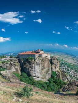 Monastero di varlaam a meteora, in grecia