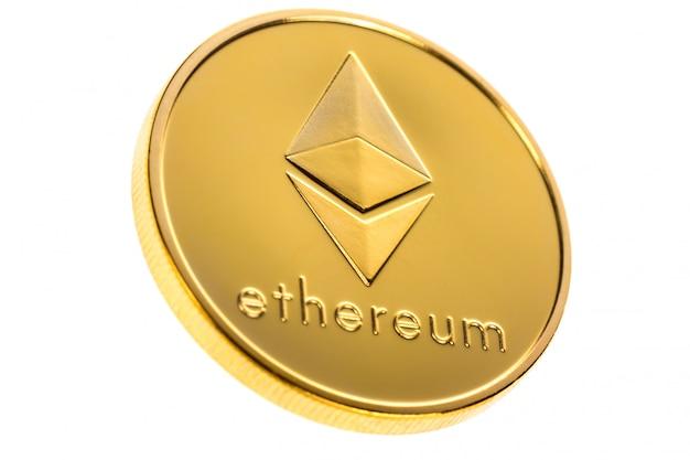 Moneta d'oro ethereum