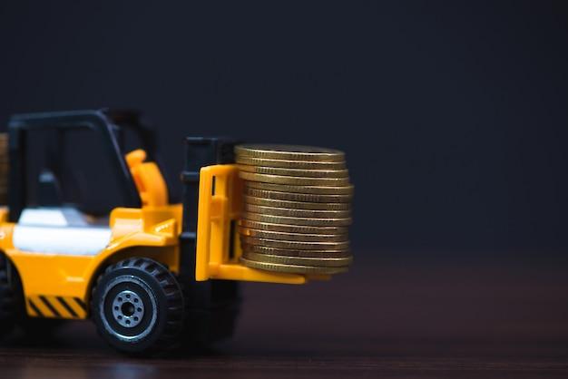 Moneta della pila di caricamento del mini carrello elevatore a forcale