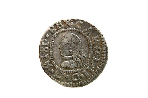 Moneta della spagna, carlos ii