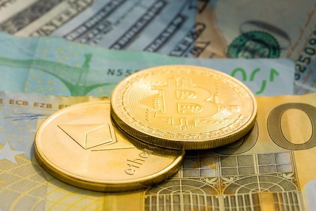 Monete d'oro di criptovaluta